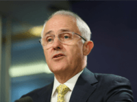 Prime Minister Malcolm Turnbull speaks during a press conference at the Commonwealth Parliament Offices on July 3, 2016 in Sydney, Australia. (Ryan Pierse/Getty)