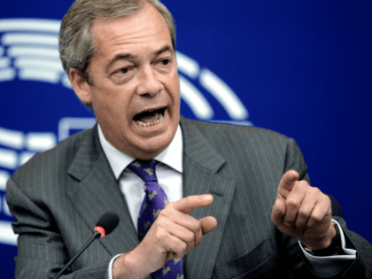 Farage: Joe Biden is in 'Complete Denial' About Antifa and the Radical Left