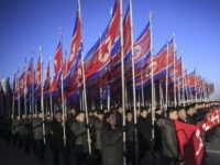 North Korea parade (Jon Chol Jin / Associated Press)