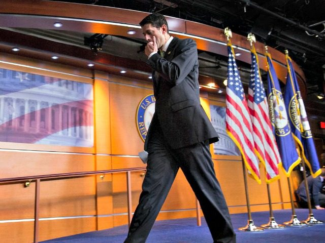 Paul Ryan Walking Away AP