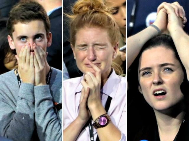 People React to Hillary Loss AP Photos