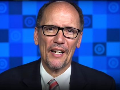 Tom Perez during 4/14/17 Democratic Weekly Address