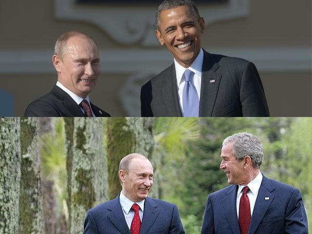 Putin-Bush-Obama