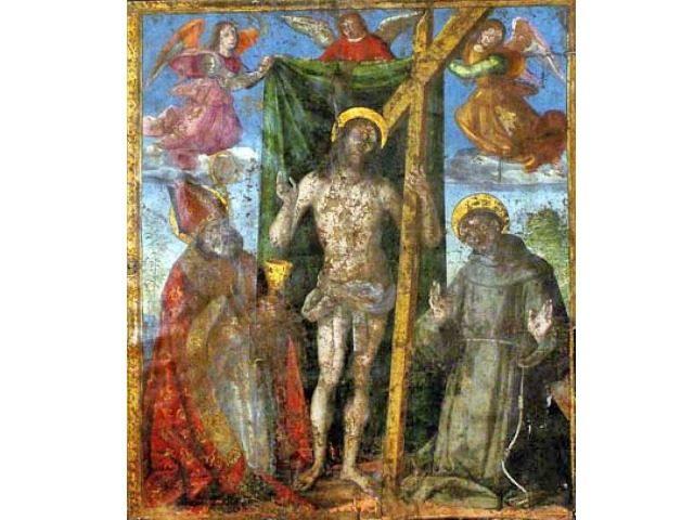 Risen Christ-Raphael 1498-1499 Photo Stephano Medici/AP