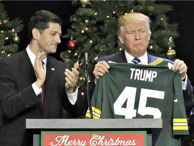 Ryan, Trump, Packers APMorry Gash
