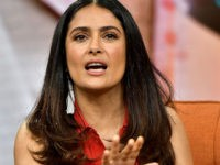 Salma Hayek: Trump's 'Dumb' Border Wall is 'Not the Solution'