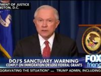 Sessions: DoJ Has Sent a Letter to 10 'Sanctuary Cities' in Possible Violation of Immigration Law