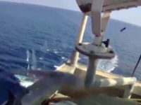VIDEO: Somali Pirates Exchange Gunfire with Security Guards, Try to Hijack Cargo Ship