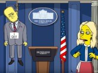 'The Simpsons' Mocks Trump's First 100 Days with Spicer Suicide, Ivanka on Supreme Court (Video)