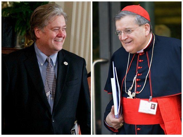Steve Bannon Cardinal Burke
