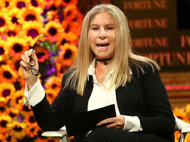 DANA POINT, CA - OCTOBER 18: Barbara Streisand speaks onstage at the Fortune Most Powerful Women Summit 2016 at Ritz-Carlton Laguna Niguel on October 18, 2016 in Dana Point, California. (Photo by Joe Scarnici/Getty Images for Fortune)