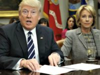 Trump and Betsy DeVos Deliver Disparate Messages in First 100 Days