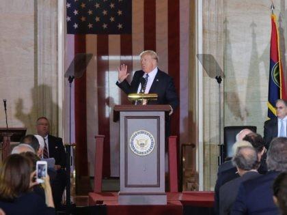 Trump Holocaust Rotunda (Mandel Ngam / Getty)