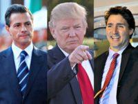 Trump, Pena Nieto, Trudeau
