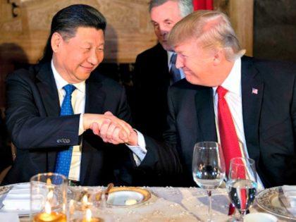 Trump, Xi Jinping Jim WatsonAFPGetty