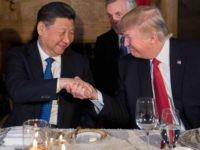 Trump Xi Jinping dinner (Jim Watson / AFP / Getty)