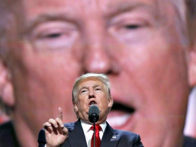 Trump and Trump Carolyn KasterAP