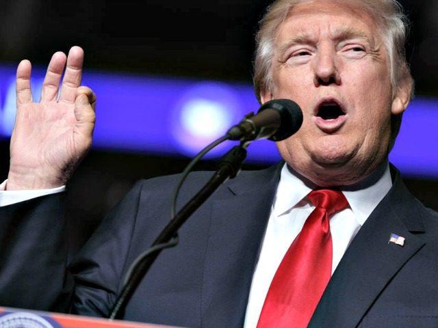 Trump finger pinch AP