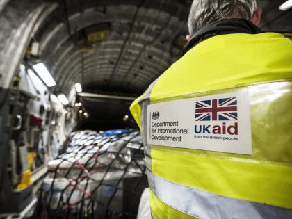 UK AID RAF