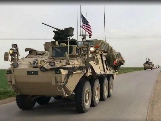 Video Surfaces of U.S. Presence Near Turkish Soldiers, Kurdish Militia on Syrian Border