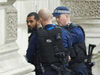 Armed Police Shut Down Whitehall, Arrest Man With Rucksack of Knives