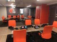 Cleveland Browns Draft Room
