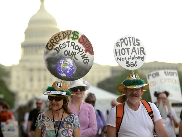 DELINGPOLE: The People's Climate March – AKA Watermelons' War on Capitalism – In Pictures