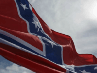 The Confederate flag, the South's flag in the Civil War and today considered a symbol of racism by many Americans
