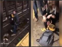 WATCH: Good Samaritan Pulls Man from Tracks Before Subway Comes into the Station