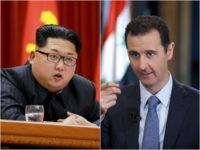 Kim Jong-un and Bashar al-Assad
