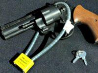 locked gun Dept of Vets