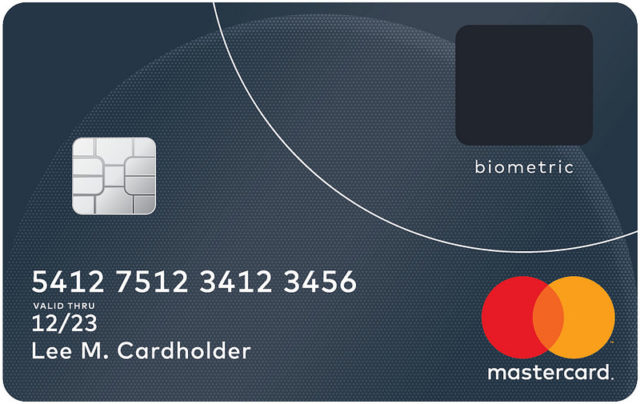 A new Biometric credit card by MasterCard