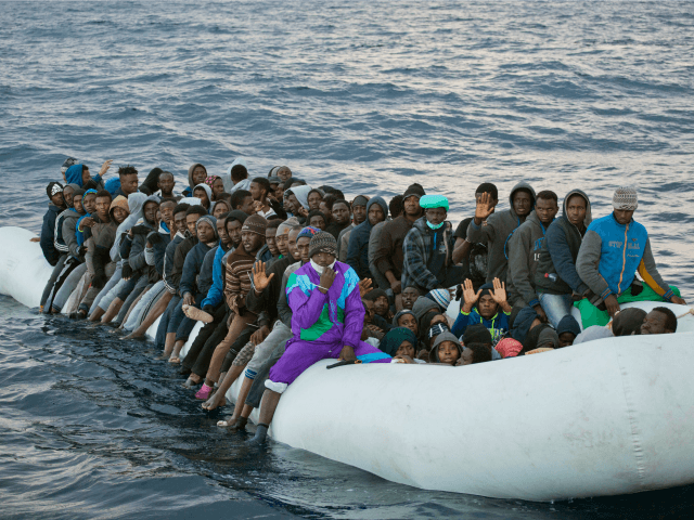Spain saves 38 migrants in 2 boats crossing from Africa