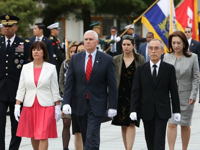 Pence says South Korea-US free trade agreement to be reviewed, reformed