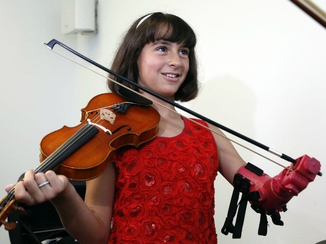 Engineers Develop Prosthetic Arm That Allows Girl to Play Violin