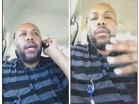 A man who identified himself as Stevie Steve in a video he broadcast of himself on Facebook. Stevie Steve/Social Media