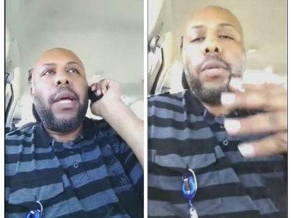 A man who identified himself as Stevie Steve in a video he broadcast of himself on Facebook. Stevie Steve/Social Media