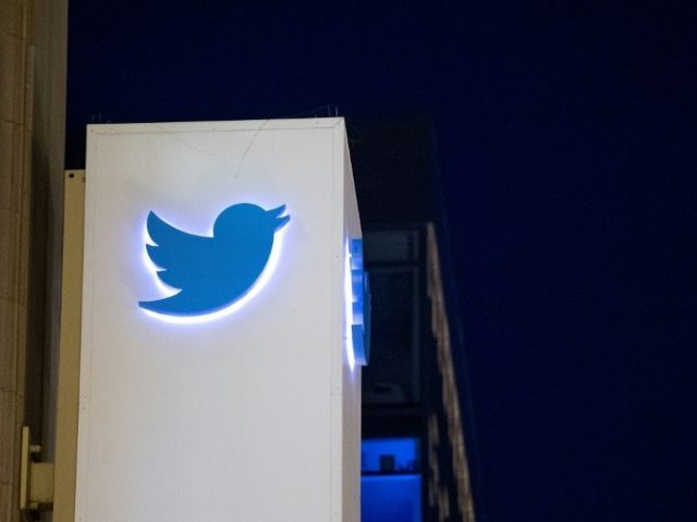 "Twitter, whose logo is seen here at its San Francisco headquarters, has eliminated the egg icon often associated with online ""trolls"""