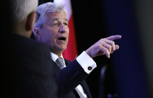 Jamie Dimon sounds very much like President Donald Trump these …