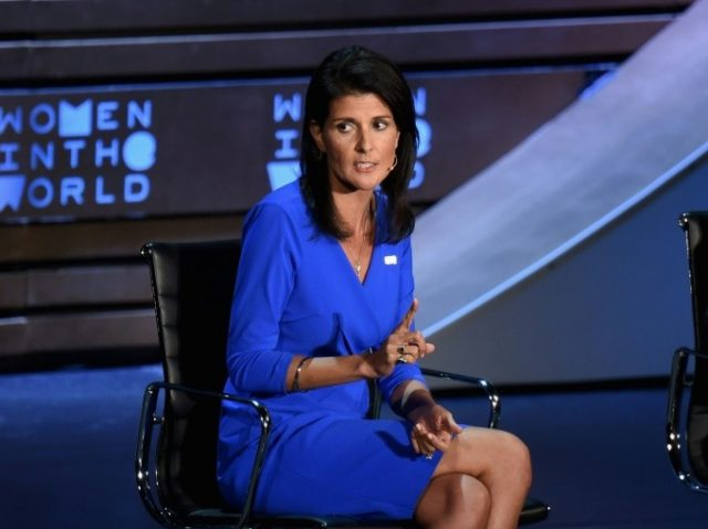 "US Ambassador to the UN Nikki Haley told the annual Women in the World Summit if Russia did something wrong the Washington was ""going to call them out on it"""