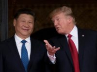"US President Donald Trump, warmly welcomed Chinese President Xi Jinping to what the US leader likes to call the ""Winter White House,"" the Mar-a-Lago estate in Florida"