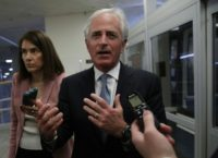 Senate Foreign Relations Committee Chairman Bob Corker said the White House has no grand plan -- at least not yet -- for deeper engagement in Syria