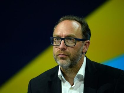 Wikipedia founder Jimmy Wales, pictured in 2016, hopes to tackle fake news with WikiTribune