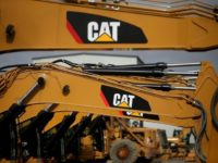 Shares of Caterpillar rose sharply in pre-market trading on the report as both earnings and revenues bested analyst expectations by wide margins
