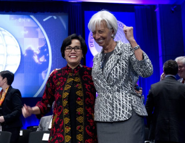 International Monetary Fund members delete anti-protectionism pledge, keep currency commitments