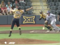 West Virginia pitcher Alek Manoah showed Wednesday while facing Morehead State that …