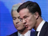 Geert Wilders and Mark Rutte