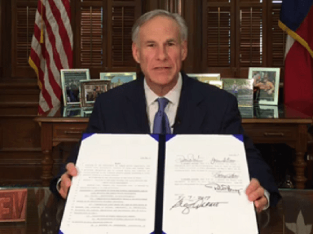 Gov. Greg Abbott Signs Bill Banning 'Sanctuary Cities' In Texas