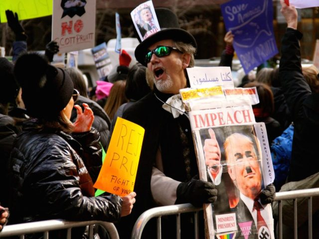 Anti-Trump Resistance (William Fowler / Flickr / CC / Cropped)