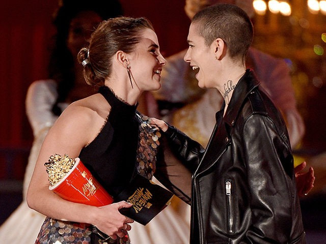 Emma Watson praises genderless MTV Awards after 'Beauty' win